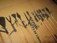 Коллекция наконечников стрел Киевской Руси
