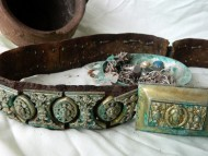 Клад с серебряным поясом шляхтича