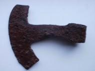 Антская секира с византийским лезвием