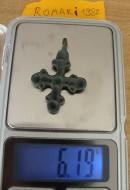 Бронзовый крестик Киевского типа, вес