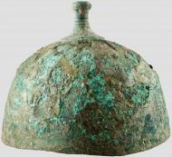Бронзовый шлем Культуры погребальных урн 10-9 вв. до н. э.