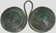 Бронзовая двойная спираль