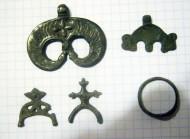 Украшения Райковецкой культуры 8-10 век
