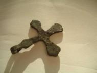 Скандинавский бронзовый крестик