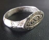 Ордынский серебряный перстень 14-15 век