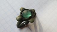 Перстень со стеклянной вставкой