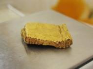 Отруб древнего золотого ювелирного изделия