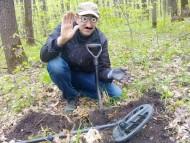 Находка фибулы Пеньковской культуры