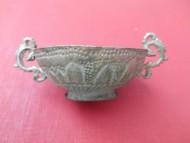 Старинная серебряная чаша из клада