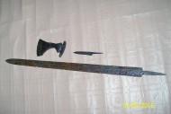 меч, раннее средневековье