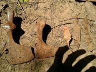 Секира-чекан, секира, наконечник стрелы