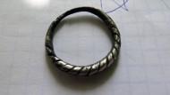 Псевдовитое серебряное кольцо КР