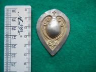 Решма серебряная с позолотой