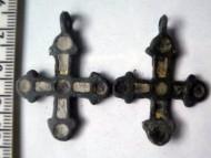Бронзовый крестик Киевского типа
