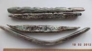 Клад серебряных литовских гривен