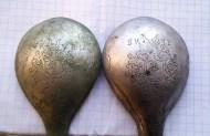 Серебряные походные ложки, 17 век