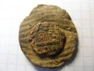 Свинцовая вислая печать с гербом