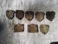 Поясные накладки из оловянистой бронзы