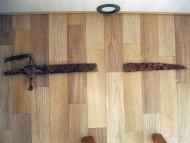 Находка шляхетской гусарской сабли 17 века