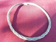 Древнерусская серебряная 8-ми жильная шейная гривна