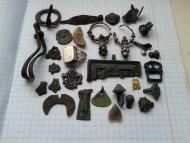 Находки большого количества предметов периода от 12 до 19 века