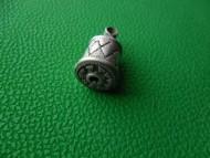 Древнерусская серебряная шумящая подвеска-колокольчик покрытая зернью