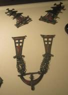 Шейное украшение с перегородчатыми эмалями Киевская культуры