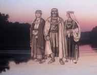 Графическая реконструкция представителей Киевской археологической культуры