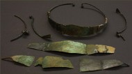 Такие венцы из бронзы украшали головы древних славянок