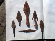 Средневековые наконечники стрел