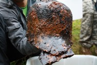 Шлем салад из находок на территории Беларуси