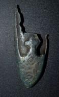 Балтский (Куршский) наконечник ножен 12-нач. 13 века