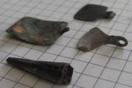 3 привески и серебряный амулет-топорик