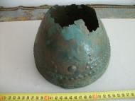 Бронзовый шлем, Древняя Греция - Гальштатская культура