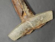 Бронзовая крестовина меча