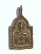 Древнерусская киотчатая иконка святого мученика