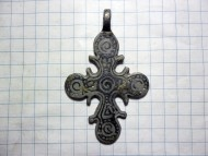 Крест «Скандинавского» типа с чернью