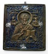 Икона 17-19 вв. «Св. Никола Чудотворец»