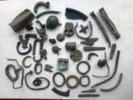 Металопластика Черняховской культуры, так называемая «сопутка ЧК»