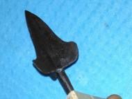 Большой  трёхлопастной наконечник стрелы