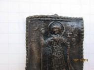 Икона-привеска X-XI вв. «Святой Георгий - пеший воин-змееборец»