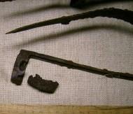 элементы ножен палаша VII-VIII век