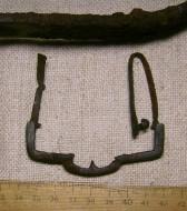 элементы ножен VII-VIII век