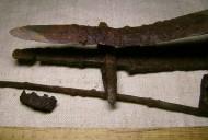 Палаш + элементы ножен VII-VIII век