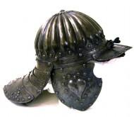 Шлем изготовленный в Нюрнберге в 17 век
