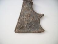 Амулет-топорик с древовидным орнаментом
