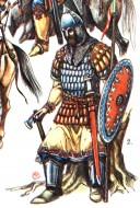 Руский дружинник XII века