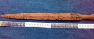 Балтский мечевидный наконечник копья V-VII век