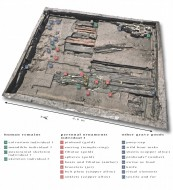 План и описание могилы хенебургской принцессы