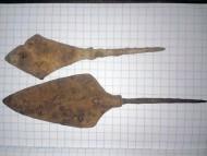 Два наконечника стрел, 12-13 век